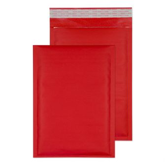 Padded Bubble Pocket Peel and Seal Red C5+ 260x180