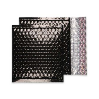 Padded Bubble Wallet Peel and Seal Oil Black CD 165x165