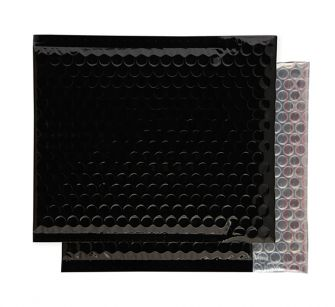 Padded Bubble Wallet Peel and Seal Oil Black 230x230