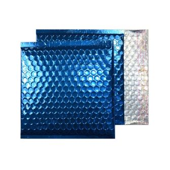Padded Bubble Wallet Peel and Seal Peacock Blue CD 165x165