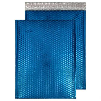 Padded Bubble Pocket Peel and Seal Peacock Blue C3 450x324