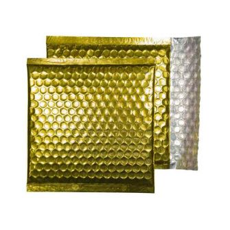 Padded Bubble Wallet Peel and Seal Glamour Gold CD 165x165