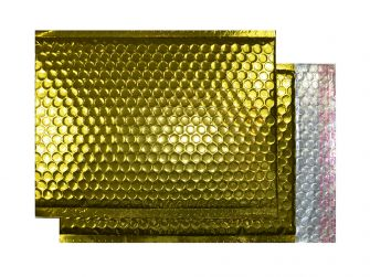 Padded Bubble Pocket Peel and Seal Glamour Gold C4 320x240
