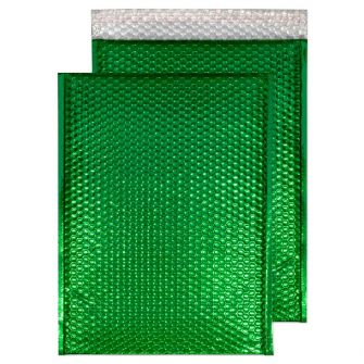Padded Bubble Pocket Peel and Seal Emerald Green C3 450x324