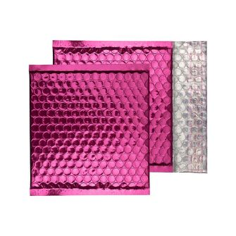 Padded Bubble Wallet Peel and Seal Party Pink CD 165x165