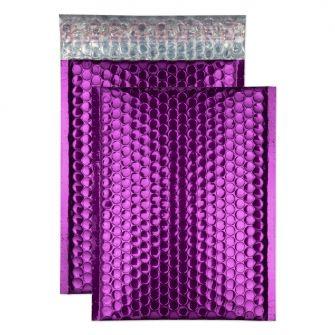 Padded Bubble Pocket Peel and Seal Purple Grape C5+ 250x180