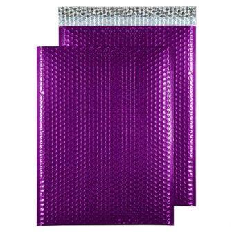 Padded Bubble Pocket Peel and Seal Purple Grape C3 450x324