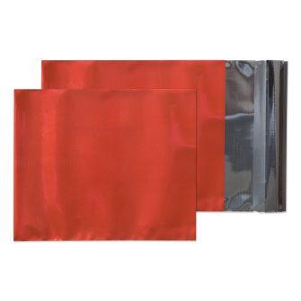Foil Pocket Peel and Seal Metallic Red C5 229x162 70mic