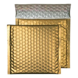 Metallic Bubble Padded Wallet Peel and Seal Gold Dust BX100 165x165