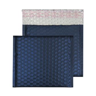 Padded Bubble Wallet Peel and Seal Oxford Blue CD 165x165