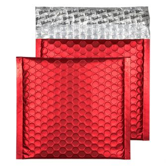 Padded Bubble Wallet Peel and Seal Chilli Haze CD 165×165mm