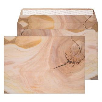 Wallet Peel and Seal Natural English Oak C5 162x229 135gsm Envelopes