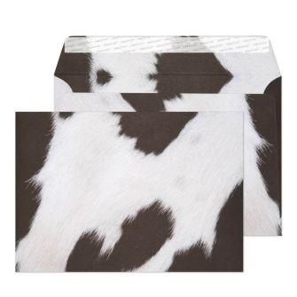 Wallet Peel and Seal Friesian Cow Hide C5 162x229 135gsm Envelopes