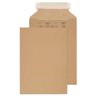 Corrugated Pocket Peel and Seal Kraft 280x200