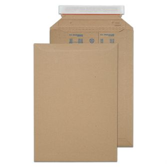 Corrugated Pocket Peel and Seal Kraft 353x250