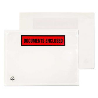 Wallet Peel and Seal Clear C6 126x168