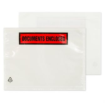 Wallet Peel and Seal Clear DL 132x235