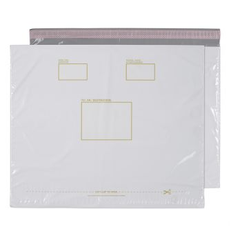 Polypost Pocket Peel and Seal White BX300 430x590