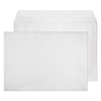 Wallet Peel and Seal Frosted White C4 229x324 120gsm Envelopes
