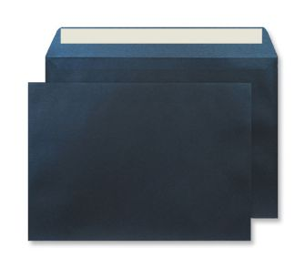 Wallet Peel and Seal Midnight Blue C4 229x324 120gsm Envelopes