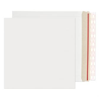 All Board Square Peel and Seal White Board 350GM BX100 249x249