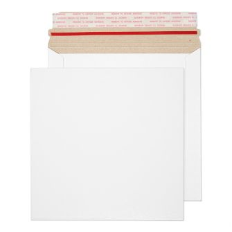 All Board Square Peel and Seal White Board 350GM BX200 195x195