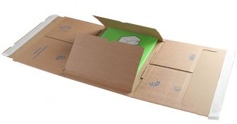 Postal Wrap Peel and Seal Kraft 310x250x100mm