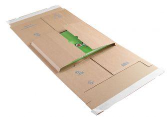 Postal Wrap Peel and Seal Kraft 350x320x20-100mm