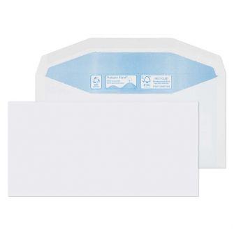 Nature First Mailer Gummed White DL+ 114x229 90gsm Envelopes