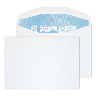 Nature First Mailer Gummed White C6 114x162 90gsm Envelopes