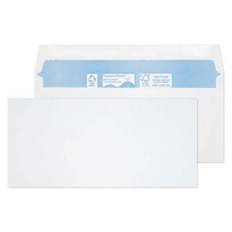 Nature First Wallet Gummed White BRE 102x216 80gsm Envelopes