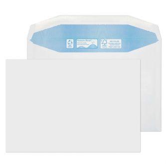 Nature First Mailer Gummed White C5 162x229 90gsm Envelopes