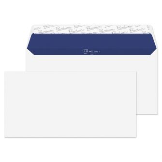 Wallet Peel and Seal Super White Wove DL 110x220 120gsm Envelopes