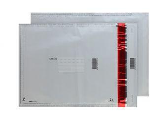 Polypost Polythene Pocket Peel and Seal White 430x330 70mic
