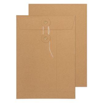 String & Washer Pocket 324x229 180gsm Envelopes