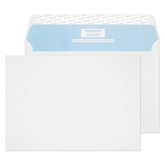 Tear Resistant Wallet Peel and Seal White C5 162x229 125gsm Envelopes