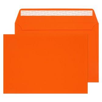 Wallet Peel and Seal Orange Velvet C5 162x229 140gsm Envelopes