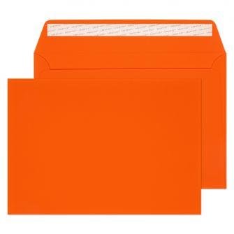 Wallet Peel and Seal Orange Velvet C4 229x324 140gsm Envelopes