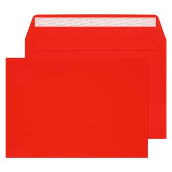 Wallet Peel and Seal Red Velvet C5 162x229 140gsm Envelopes