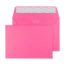 Wallet Peel and Seal Flamingo Pink C6 114x162 120gsm Envelopes