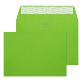 Wallet Peel and Seal Lime Green C6 114x162 120gsm Envelopes