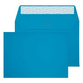 Wallet Peel and Seal Caribbean Blue C6 114x162 120gsm Envelopes