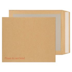 Board Back Pocket Peel and Seal Manilla 318x267 120gsm