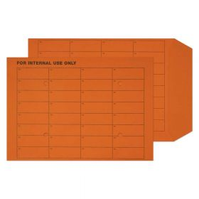 Internal Mail Pocket UnGummed Orange Manilla C4 324x229 120gsm Envelopes