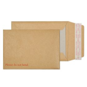 Board Back Pocket Peel and Seal Manilla 120GM BX250 162x114