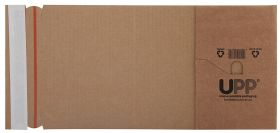 Book Wrap Peel and Seal Manilla 145x127x50