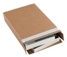 Carton Box Peel and Seal Kraft 243x46x346