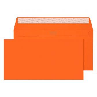 Wallet Peel and Seal Pumpkin Orange DL+ 114x229 120gsm Envelopes