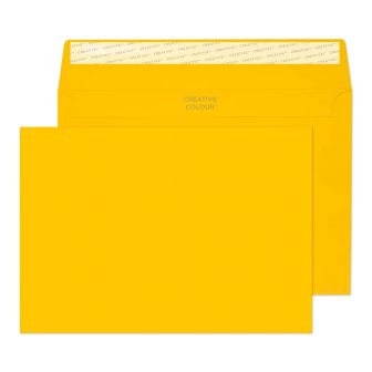 Wallet Peel and Seal Egg Yellow C5 162x229 120gsm Envelopes