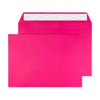 Wallet Peel and Seal Shocking Pink C5 162x229 120gsm Envelopes